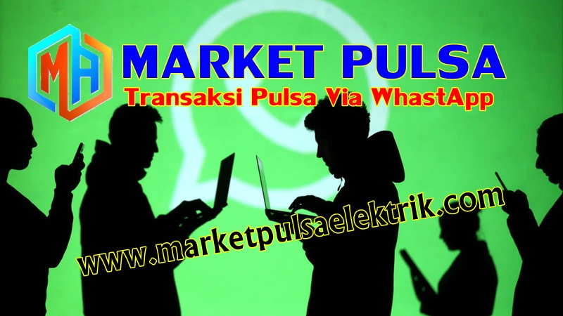 Transaksi Whastapp Market Pulsa